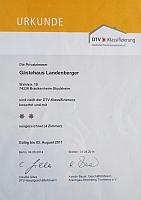 Klassifizierung Deutscher Tourismusverband